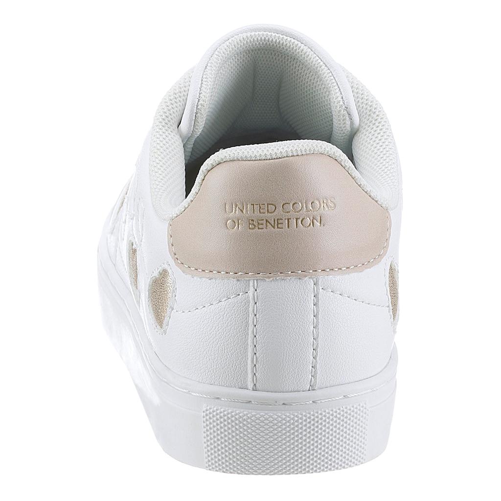 United Colors of Benetton Sneaker »Love Multi«, mit Herzchen-Verzierung