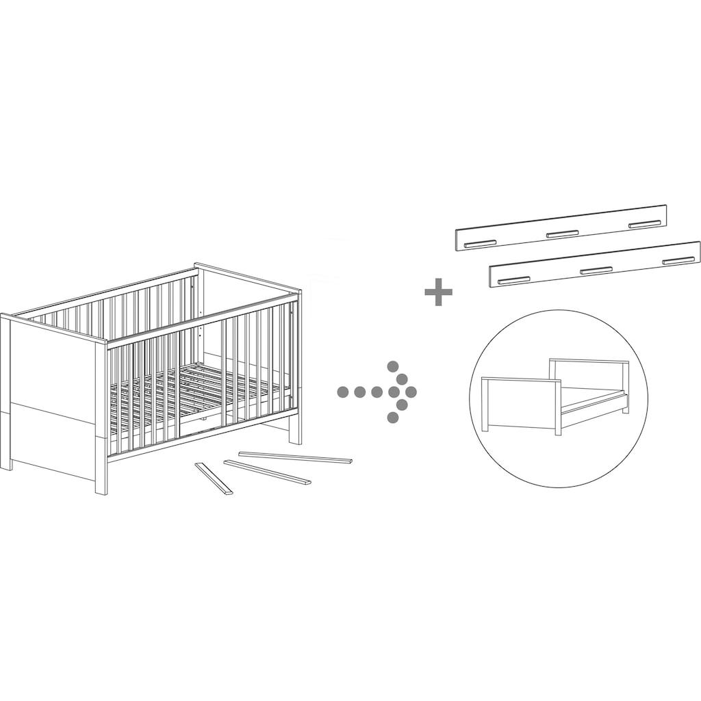 roba® Babybett »Olaf«, inkl. Umbauseiten und Schublade; Made in Europe