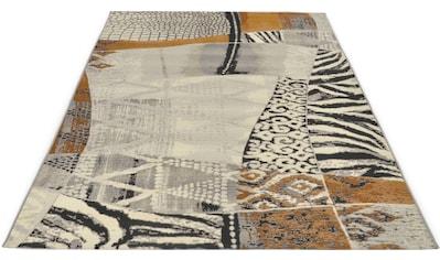 Gino Falcone Teppich »Outdoor-Africa 42«, rechteckig, 5 mm Höhe, Flachgewebe, In- und Outdoor geeignet, Wohnzimmer kaufen