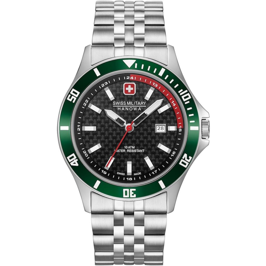 Swiss Military Hanowa Schweizer Uhr »FLAGSHIP RACER, 06-5161.2.04.007.06«