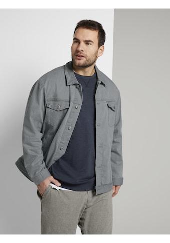 TOM TAILOR Men Plus Jeansjacke »Jeansjacke im Trucker-Stil« kaufen