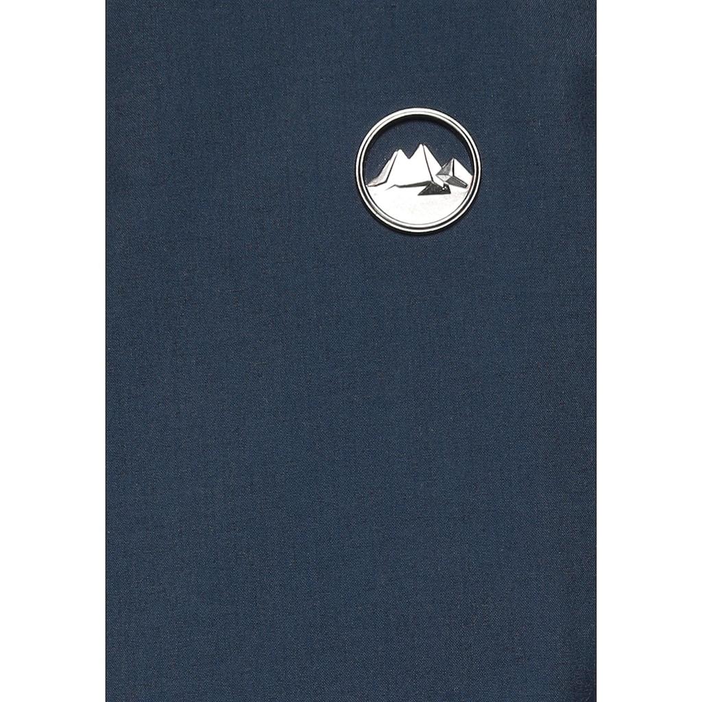 Polarino Funktionsparka, mit weitenverstellbarer Taille