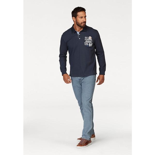 Man's World Rugbyshirt
