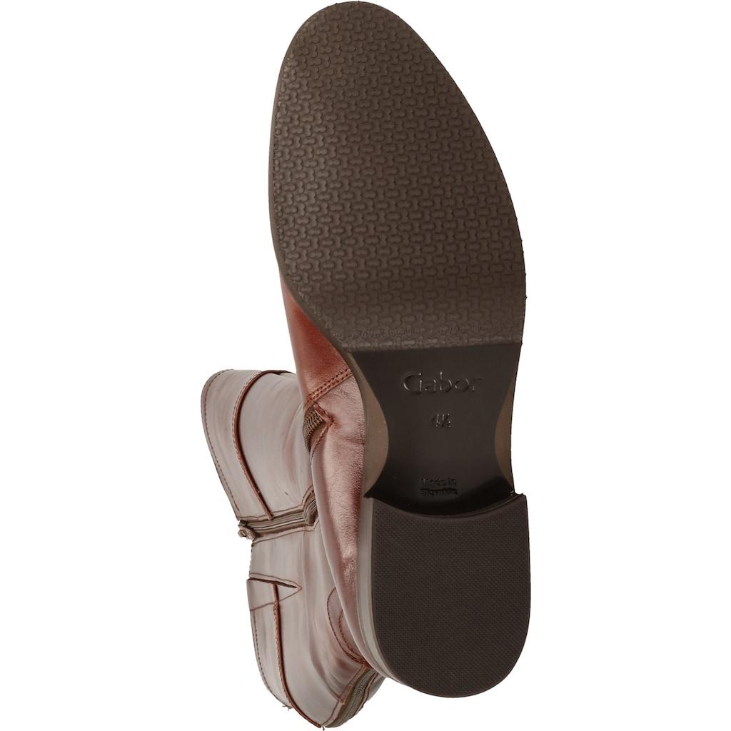 Gabor Stiefel »Glattleder«