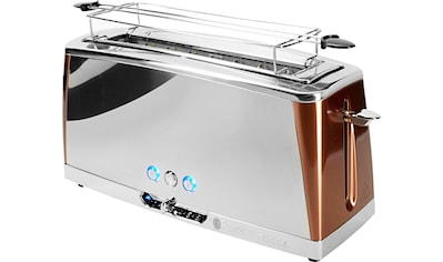 RUSSELL HOBBS Toaster »Luna Copper Accents 24310 - 56«, für 2 Scheiben, 1420 Watt kaufen