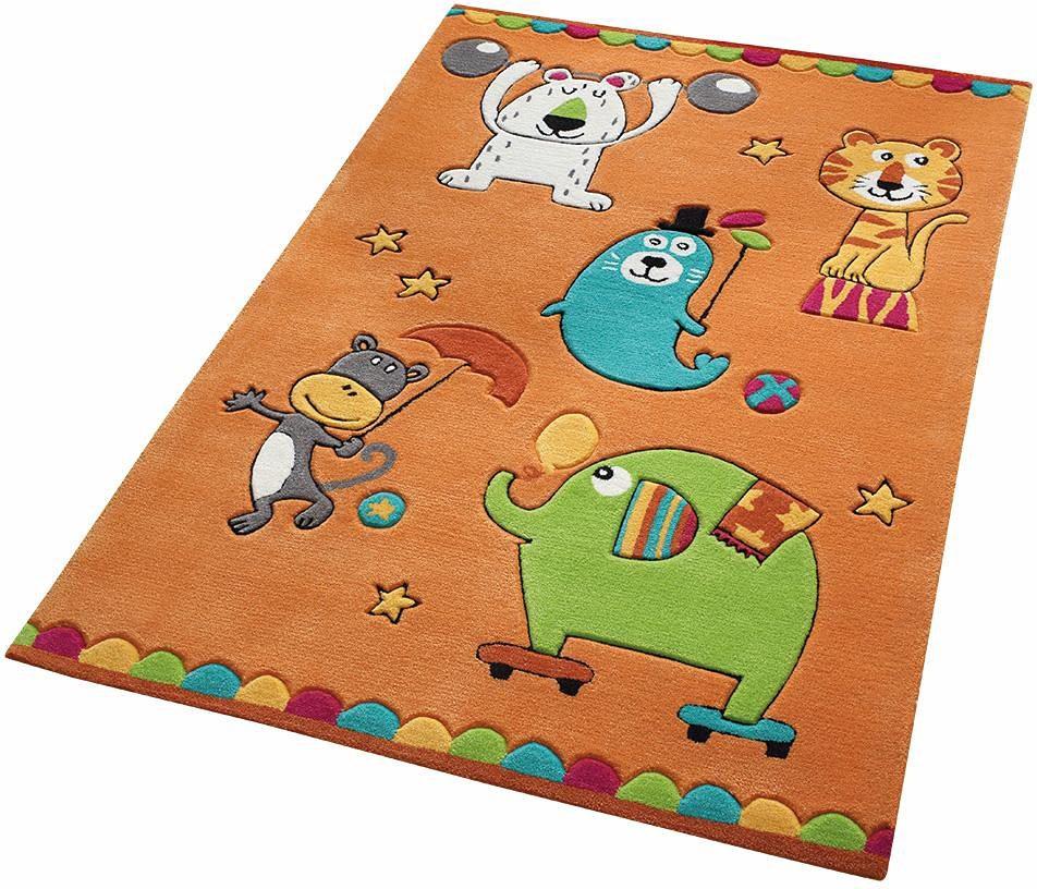 Kinderteppich Little Artists SMART KIDS rechteckig Höhe 10 mm handgetuftet