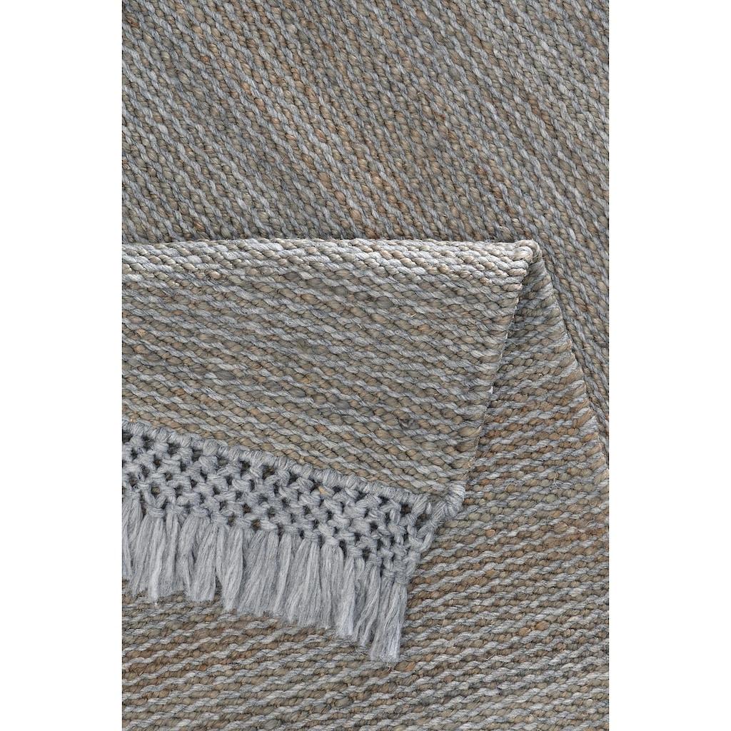 Home affaire Teppich »Amba«, rechteckig, 6 mm Höhe, Wohnzimmer