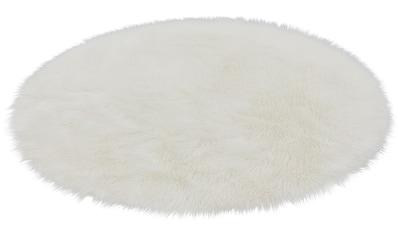 ASTRA Fellteppich »Mia«, rund, 50 mm Höhe, Kunstfell, waschbar, Wohnzimmer kaufen