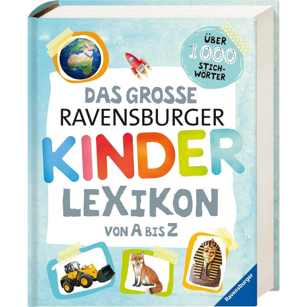 Ravensburger Buch »Das große Ravensburger Kinderlexikon von A bis Z«, ; Made in Germany