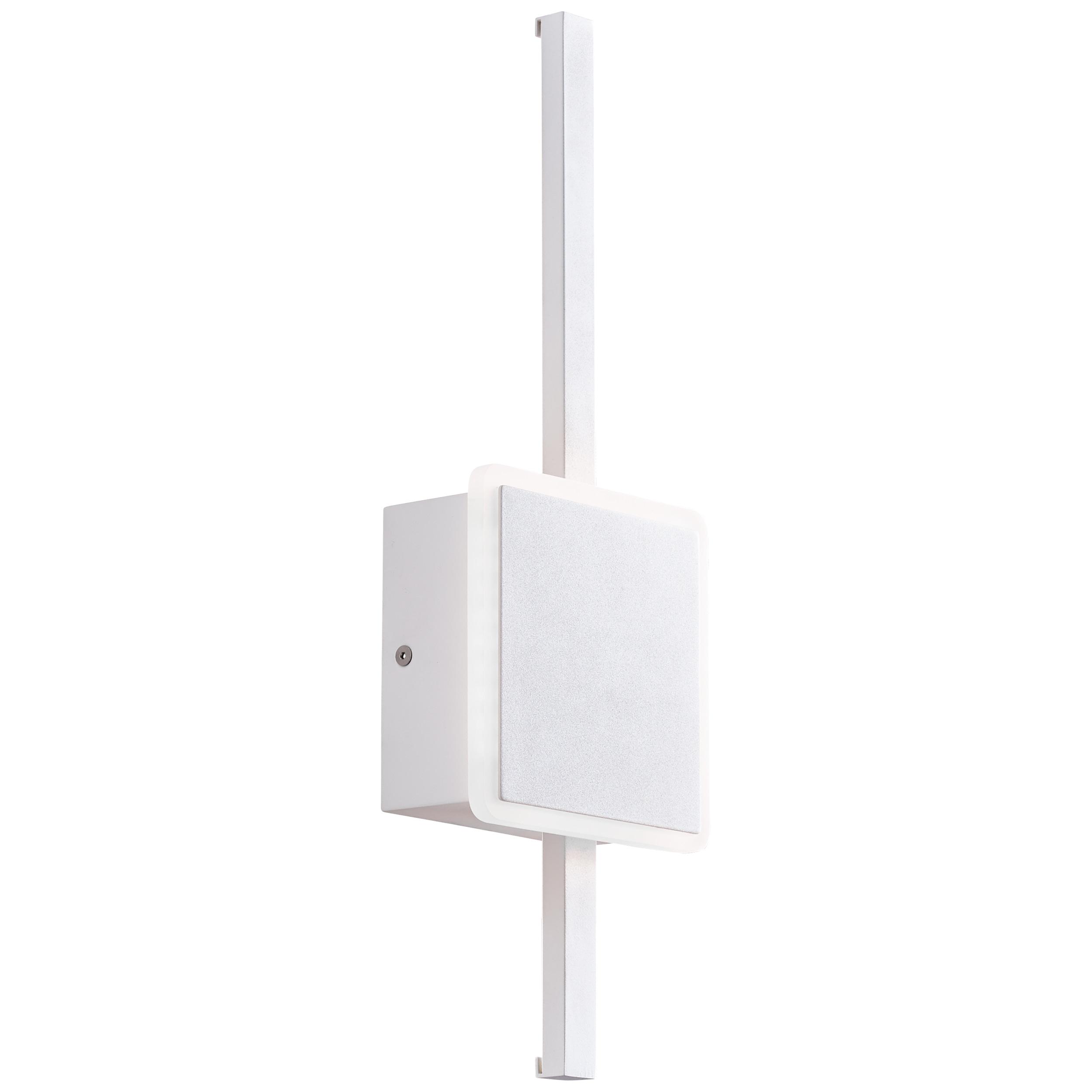 AEG Inessa LED Wandleuchte 42cm sand/weiß