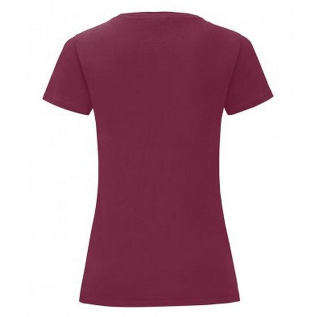 Fruit of the Loom T-Shirt »Damen Iconic, kurzärmlig«