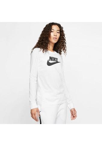 Nike Sportswear Langarmshirt »W NSW TEE ESSNTL LS ICON FTRA« kaufen