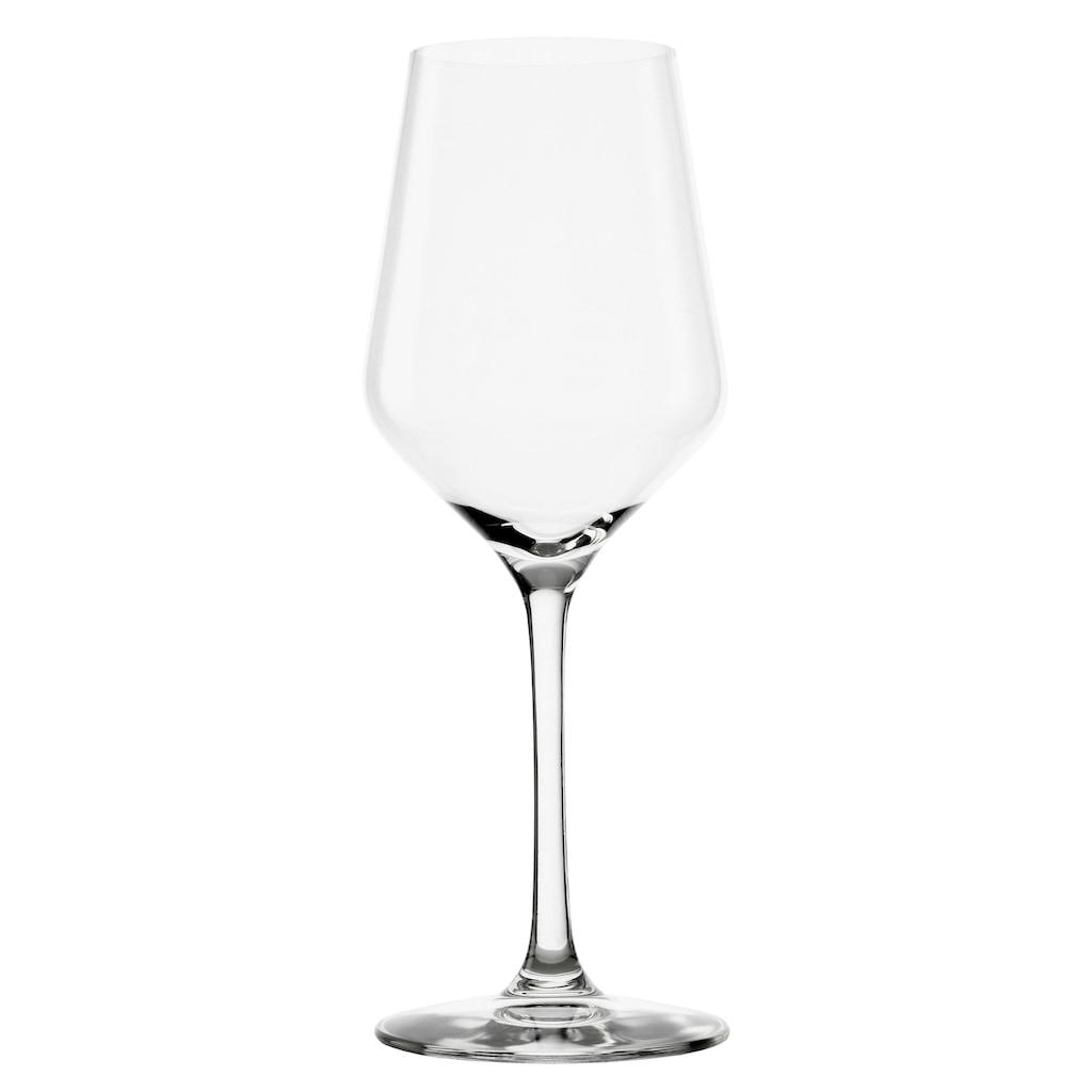 Stölzle Weißweinglas »REVOLUTION«, (Set, 6 tlg.), Maschinen-Zieh-Verfahren