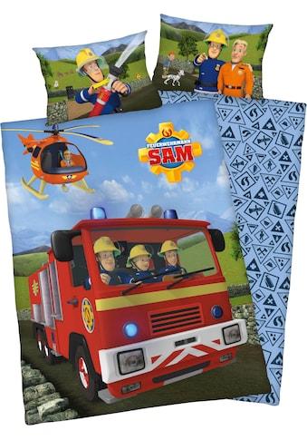 """Feuerwehrmann Sam Babybettwäsche »Feuerwehrmann Sam«, mit tollem """"Feuerwehrmann Sam""""... kaufen"""