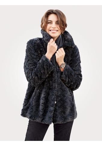 Mona Jacke aus hochwertigem Webfell kaufen