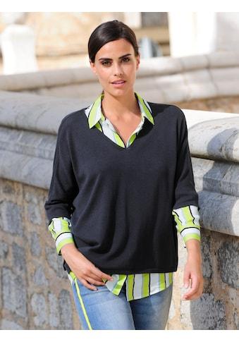 Alba Moda Strickpullover, in lässiger Oversized-Form kaufen