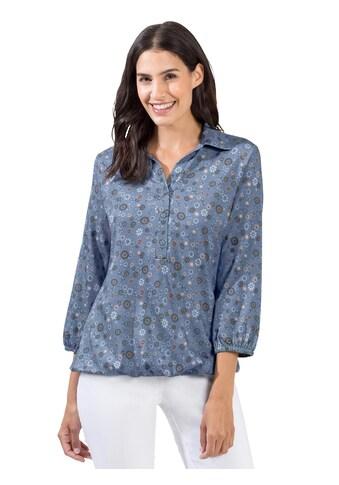 Shirt mit modischem Blümchen - Muster kaufen