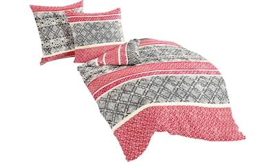 Bettwäsche »Red Pattern«, BIERBAUM kaufen