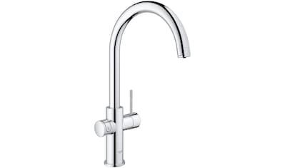 Grohe Küchenarmatur »Blue Home C-Auslauf Starter Kit«, Trinkwasser Still, Medium oder... kaufen
