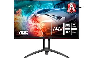 AOC »AG322QC4« Curved - Gaming - Monitor (31,5 Zoll, 2560 x 1440 Pixel, WQHD, 4 ms Reaktionszeit, 144 Hz) kaufen