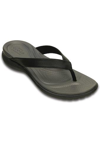 Crocs Badesandale »Capri V Flip« kaufen