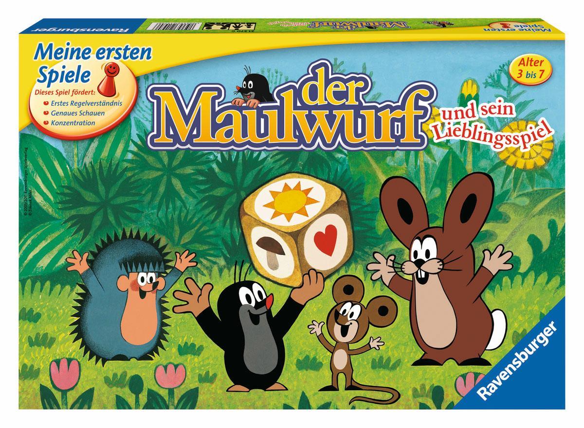 Ravensburger Spiel ´´Der Maulwurf und sein Lieblingsspiel´´ Preisvergleich