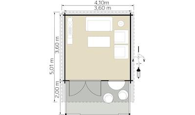 Kiehn - Holz Gartenhaus, »Kallenberg 3«, (Set) kaufen