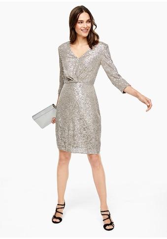 s.Oliver BLACK LABEL Pailletten - Kleid kaufen