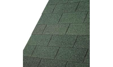 Karibu Rechteck - Dachschindeln, grün kaufen