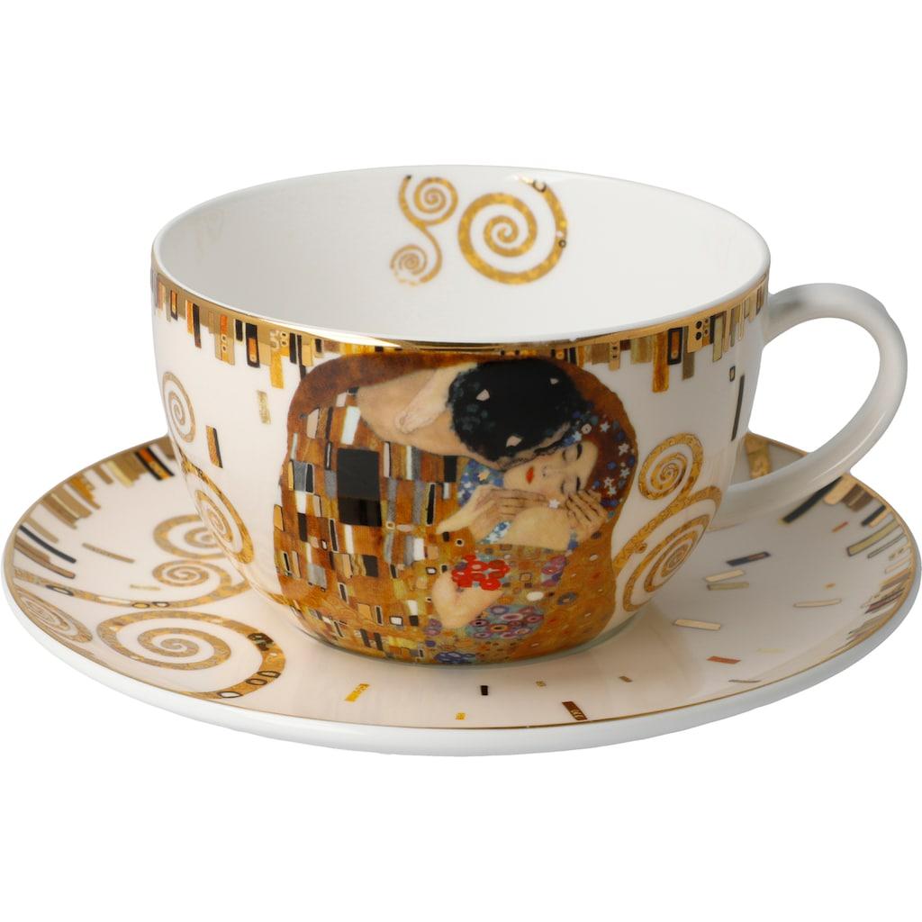 Goebel Cappuccinotasse »Der Kuss«, von Gustav Klimt