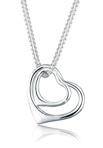 Elli Collierkettchen »Herzen Filigran 925 Sterling Silber« kaufen