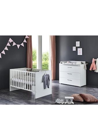 arthur berndt Babymöbel-Set »Liene«, (Spar-Set, 2 St.), mit Kinderbett und... kaufen