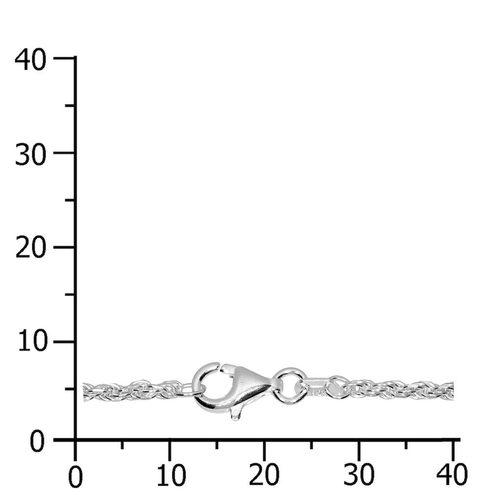 OSTSEE-SCHMUCK Silberkette »- Kordel 1,8 mm - Silber 925/000 -,«, (1 tlg.)