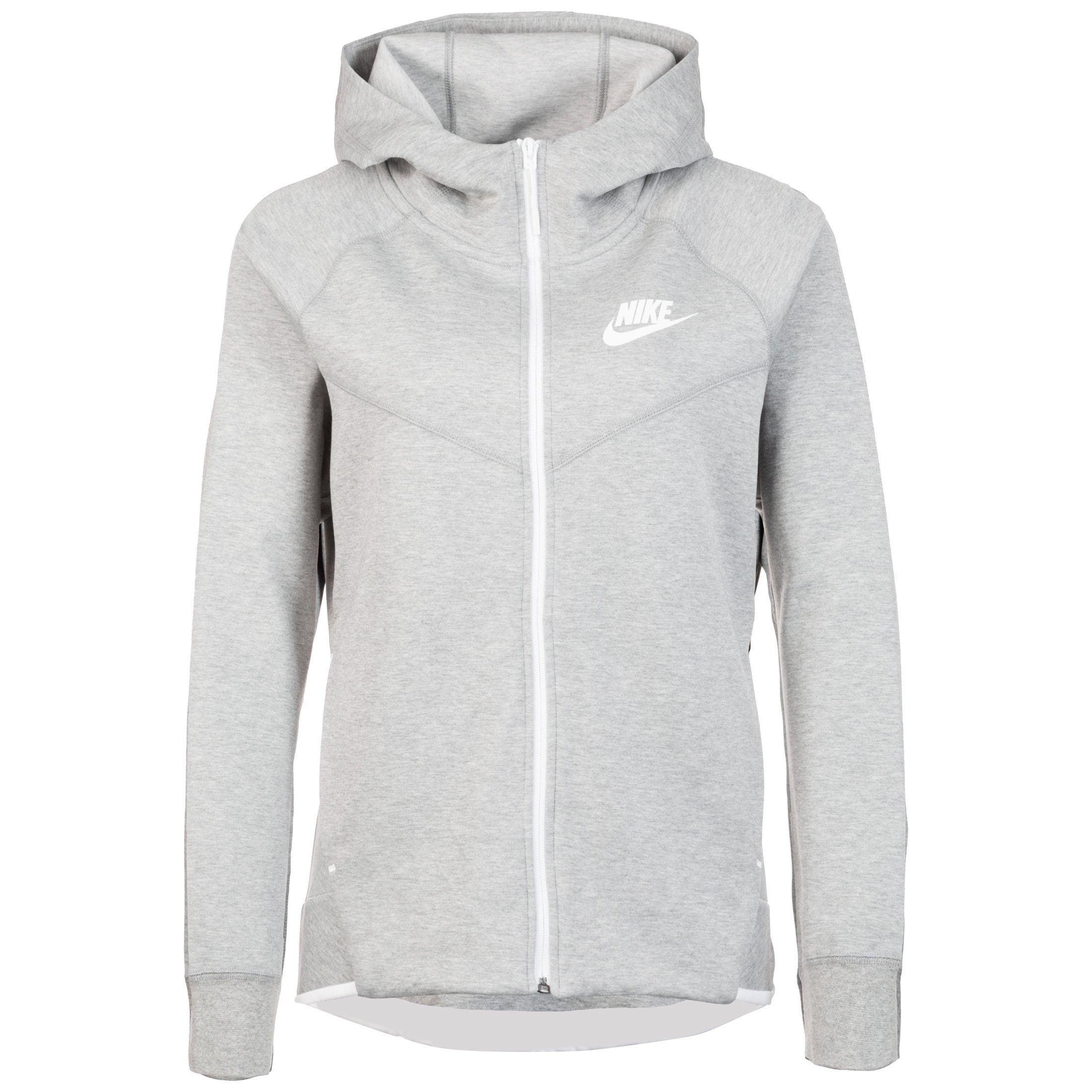 Nike Sportswear Kapuzensweatjacke Tech Fleece Windrunner | Sportbekleidung > Sportjacken > Sonstige Sportjacken | Grau | Nike Sportswear