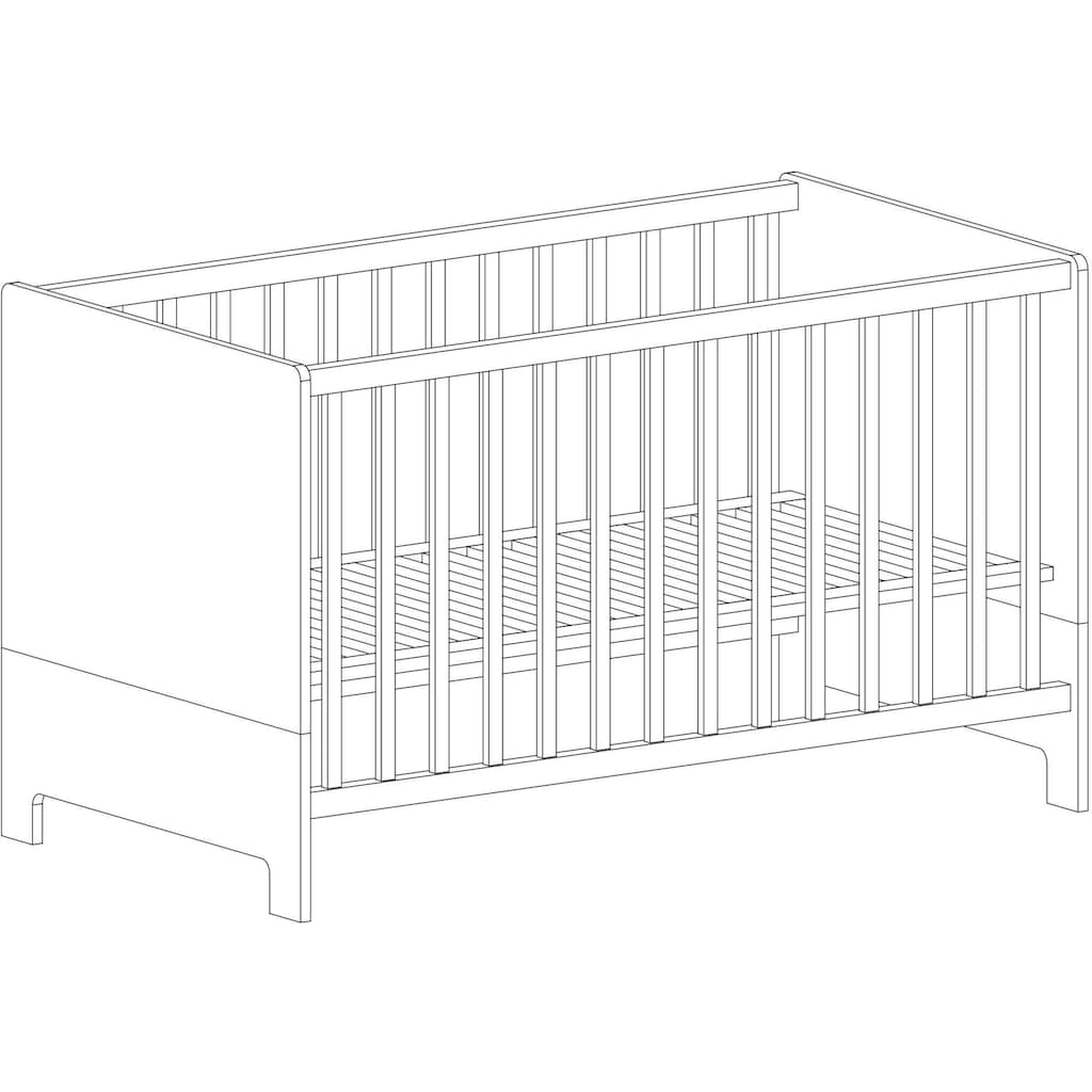 arthur berndt Babyzimmer-Komplettset »Marisa«, (Set, 3 tlg.), Made in Germany