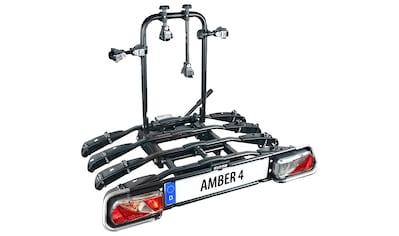 EUFAB Kupplungsfahrradträger »AMBER 4«, für die Anhängerkupplung kaufen