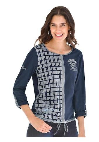 Classic Inspirationen Shirt mit halbseitigem Druck kaufen