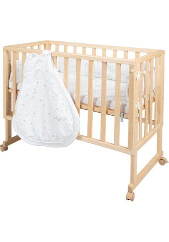 Roba® Stubenbett, »safe asleep® 3 - in - 1 Sternenzauber, natur«, 4 - tlg. kaufen