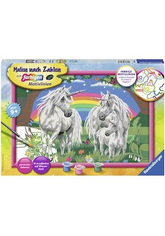 Ravensburger Malen nach Zahlen »Fabelhafte Einhornwelt«, Made in Europe kaufen