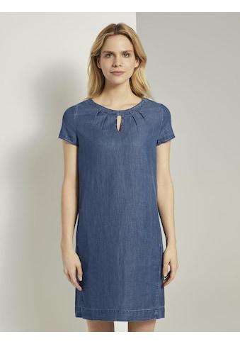 TOM TAILOR Jeanskleid »Lyocell T - Shirt - Kleid im Jeanslook« kaufen