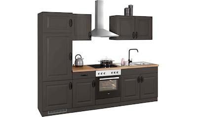 wiho Küchen Küchenzeile »Erla«, ohne E-Geräte, Breite 270 cm kaufen