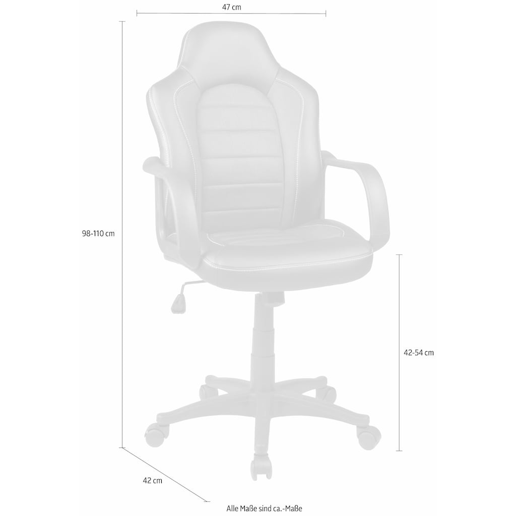 Duo Collection Gaming Chair »Robin«, in moderner Bi-Colour-Optik