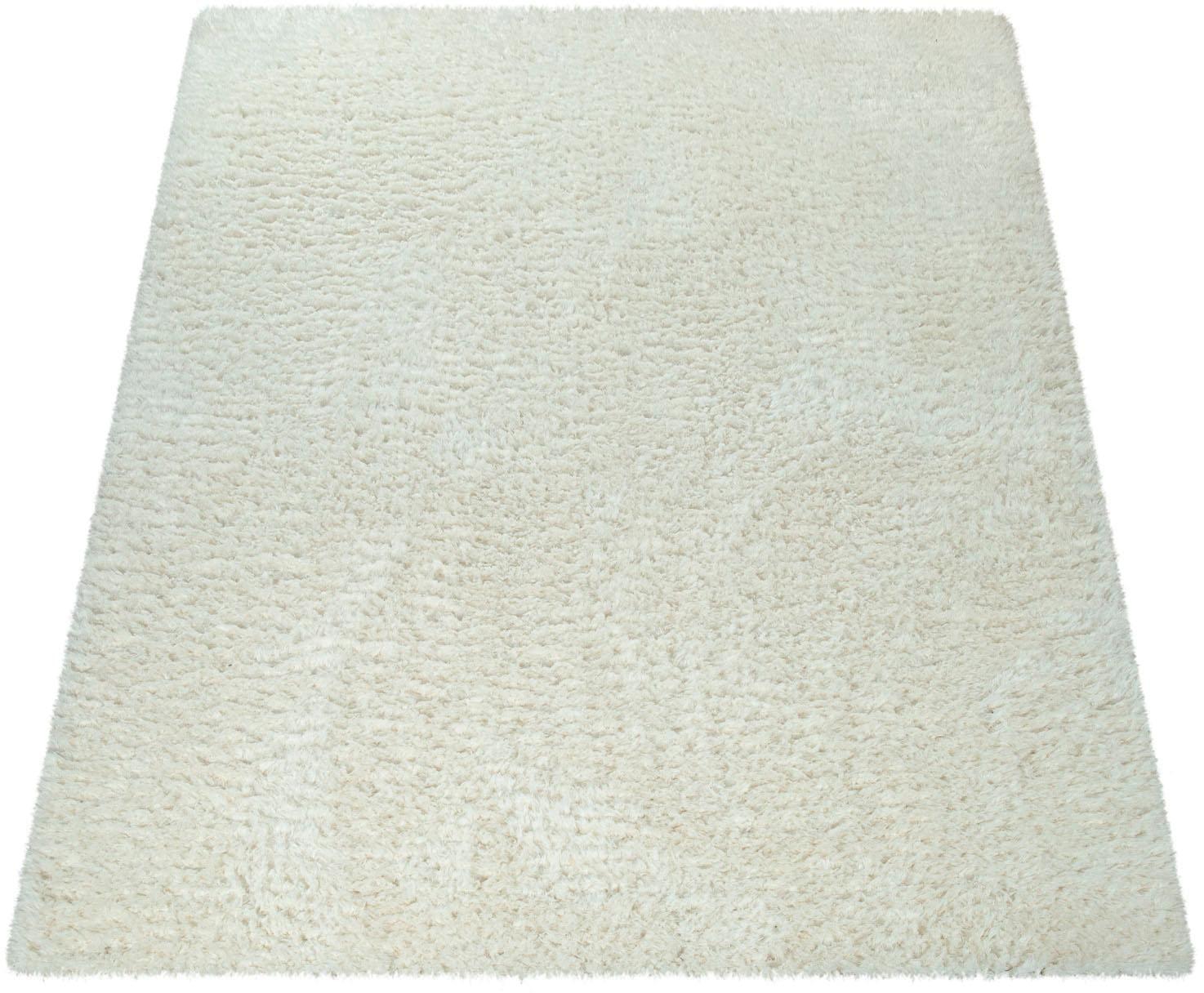 Hochflor-Teppich Punto 400 Paco Home rechteckig Höhe 50 mm