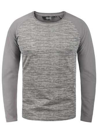 Solid Langarmshirt »Mevan«, Longsleeve kaufen