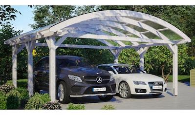 SKANHOLZ Doppelcarport »Franken«, BxT: 635x541 cm kaufen