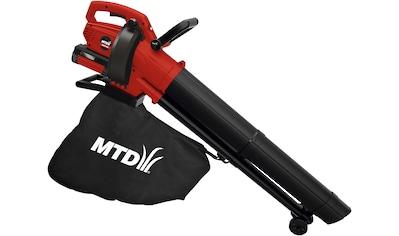 MTD Akku - Laubbläser »BLBV40«, 265 km/h Blasgeschwindigkeit, ohne Akku kaufen