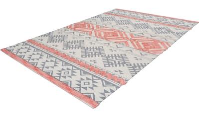 calo-deluxe Teppich »Kibo 512«, rechteckig, 10 mm Höhe, Hoch-Tief-Struktur, Wohnzimmer kaufen