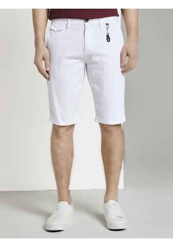 TOM TAILOR Shorts »Chino Shorts mit Schlüsselanhänger« kaufen