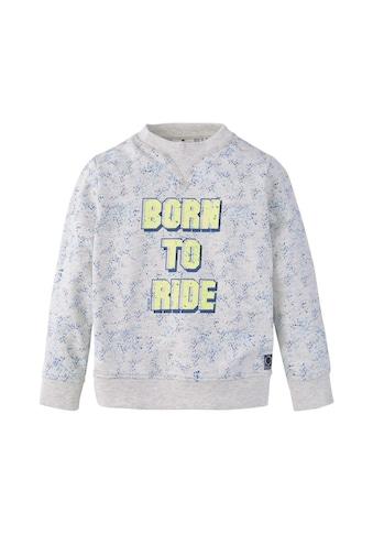 TOM TAILOR Sweatshirt »Sweatshirt mit Farbspritzer - Print« kaufen