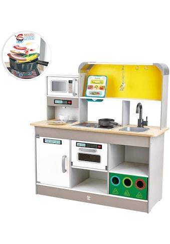 Hape Spielküche »Deluxe mit Mikrowelle«, mit Licht und Sound kaufen